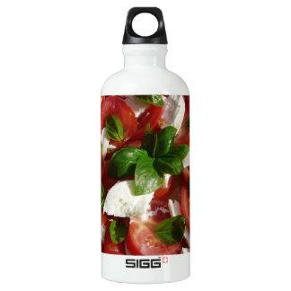 Tomato and Mozzarella Salad Aluminum Water Bottle