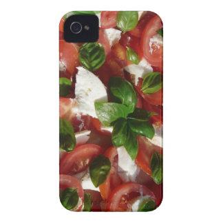 Tomato and Mozzarella Salad iPhone 4 Cover