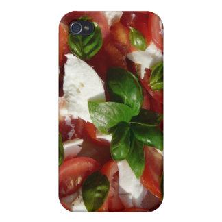 Tomato and Mozzarella Salad iPhone 4 Cases