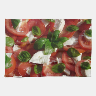 Tomato and Mozzarella Salad Kitchen Towels