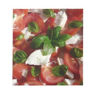 Tomato and Mozzarella Salad Memo Pads