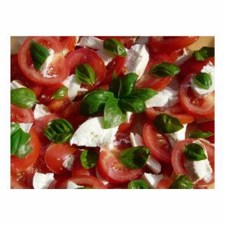 Tomato and Mozzarella Salad Photo Sculpture