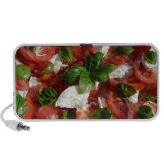 Tomato and Mozzarella Salad Speaker System