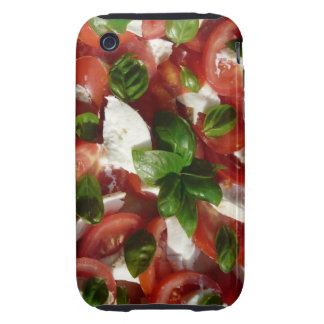 Tomato and Mozzarella Salad Tough iPhone 3 Case