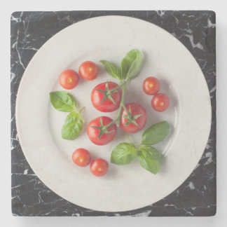 Tomato & Basil Drinks' Coaster