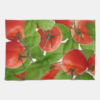 Tomato Basil Kitchen Towel
