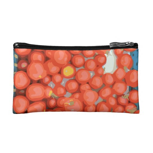 Tomato Batches, Ripe and Juicy Cosmetic Bag
