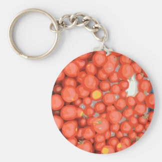 Tomato Batches Ripe and Juicy Keychains