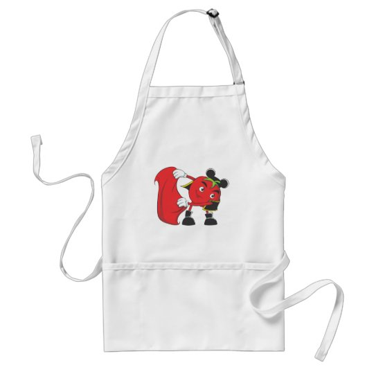 Tomato Bull Fighter Adult Apron