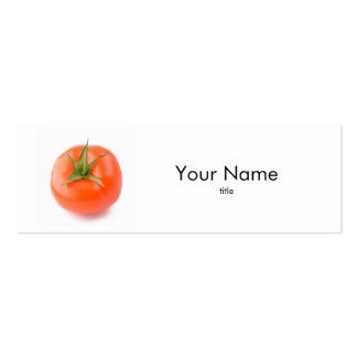 Tomato Business Card Business Card Templates