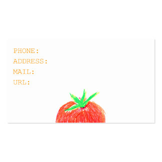 TOMATO BUSINESSCARD BUSINESS CARD