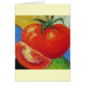 Tomato by Paris Wyatt Llanso Card