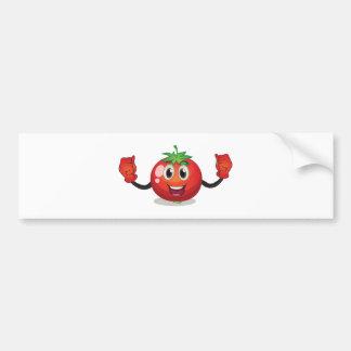 Tomato Car Bumper Sticker