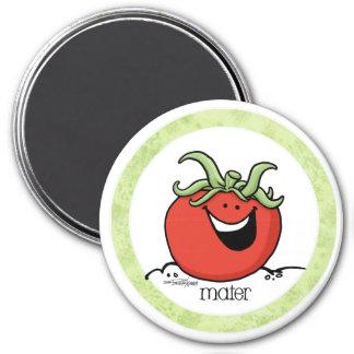 Tomato Cartoon - Veggie magnet