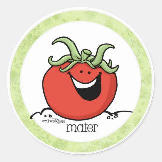 Tomato Cartoon - Veggie sticker