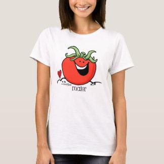 Tomato Cartoon - Veggie T-shirt