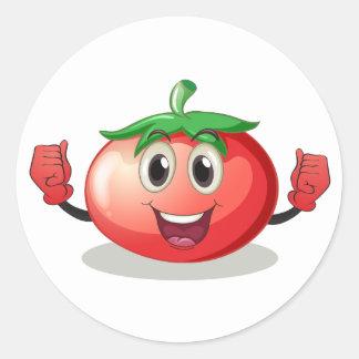 Tomato Classic Round Sticker