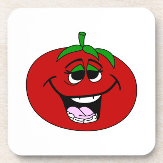 Tomato Face Drink Coaster