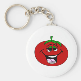 Tomato Face Keychain