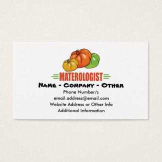 Tomato Gardener Business Card