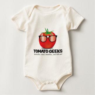 Tomato Geek Stuff Baby Bodysuit