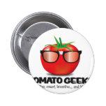 Tomato Geek Stuff Pinback Button