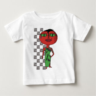 Tomato Girl - Eddie with Vines Baby T-Shirt
