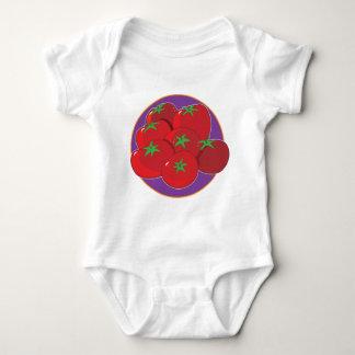 Tomato Graphic Baby Bodysuit
