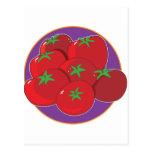 Tomato Graphic Postcard