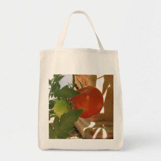 Tomato Grocery Tote Bag
