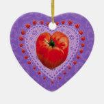 TOMATO HEART ORNAMENT