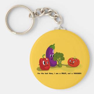 Tomato humor keychain