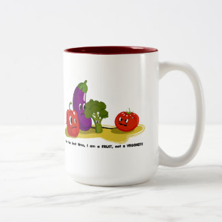 Tomato humor coffee mug