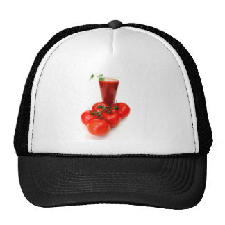 Tomato Juice And Fresh Tomatoes Trucker Hat