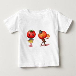 Tomato kitschy Cute Couple Kitchen Baby T-Shirt