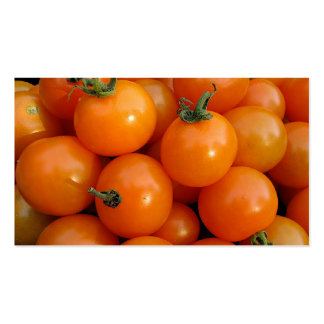 Tomato Market Double-Sided Standard Business Cards (Pack Of 100)