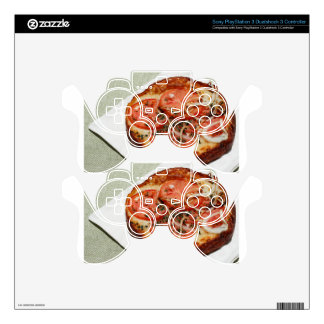 Tomato Onion Pizza Decal For PS3 Controller
