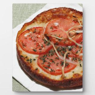 Tomato Onion Pizza Plaque