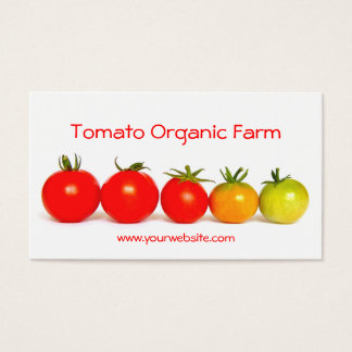 Tomato Organic Farm Business Card