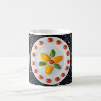Tomato, Pepper & Basil Colourful Food Art Mug