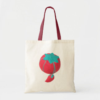 Tomato Pin Cushion Tote Bag