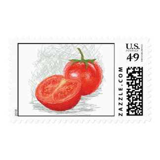tomato postage stamps