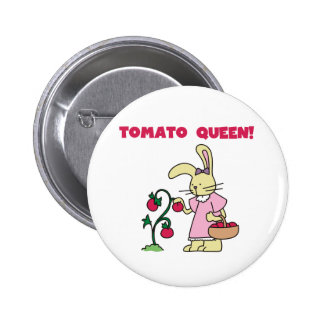 Tomato Queen Button