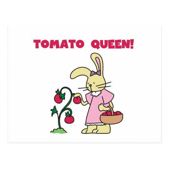 Tomato Queen T-shirts and gifts Postcard