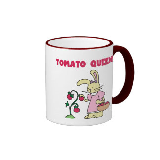 Tomato Queen T-shirts and gifts Ringer Coffee Mug