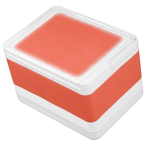 Tomato Red Solid Color Drink Cooler