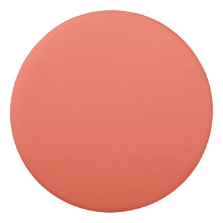 Tomato Red Solid Color Eraser