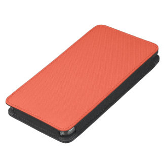 Tomato Red Solid Color Galaxy S5 Pouch