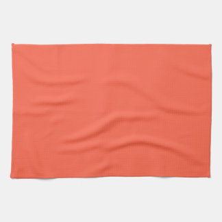 Tomato Red Solid Color Kitchen Towels