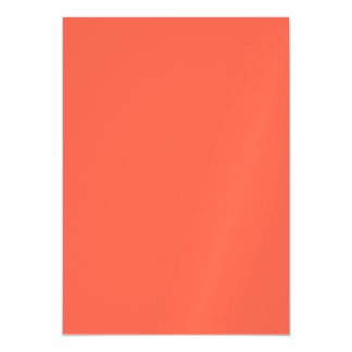 Tomato Red Solid Color Magnetic Card